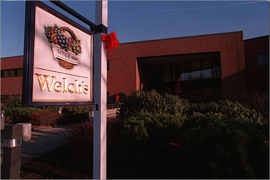 Welch Foods Inc. Founded: 1869 Industry: Food products Location: Concord The Concord cooperative, which is best-known known for its grape juice, also makes jelly, dried fruits, and other products.