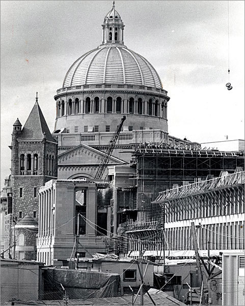 Work progressed on the various structures in late 1970.