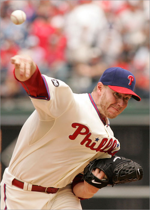 Roy Halladay started against the Red Sox Sunday but struggled. Halladay allowed six earned runs and failed to get out of the sixth inning for the first time this season.