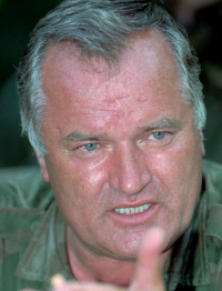 Ratko Mladic is charged with genocide by a UN court.