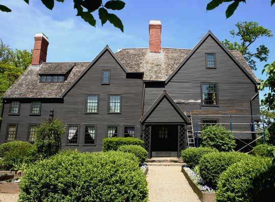 House of the Seven Gables The mansion, 115 Derby St., is the oldest surviving wooden mansion in New England. The home was inspiration for Nathaniel Hawthorne's famous novel by the same name. Learn more and make tour reservations at 7gables.org . STORY A bewitching city PLAN Stay , Play , Eat , Mass. travel guide