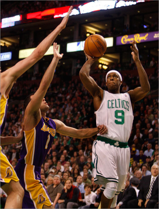 The two regular-season games the Celtics and Lakers played this season don't begin to tell the story of what this year's best-of-seven NBA Finals will bring. From the huddle to the rafters, we a look at the top 10 storylines for the Lakers during the Finals, which begin Thursday night (9p.m.).