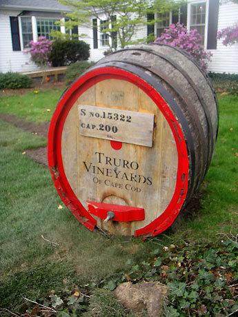 Courtney ventured to Truro Vineyards for some wine tasting.