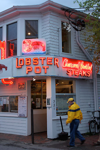 The Lobster Pot restaurant in Provincetown.