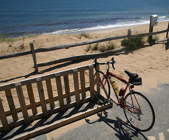 If you have a bike with you, another nice area to utilize it in Wellfleet is along the stretch of Ocean Drive, which includes beaches Le Count Hollow, White Crest Beach, Cahoon Hollow, and Newcomb Hollow.
