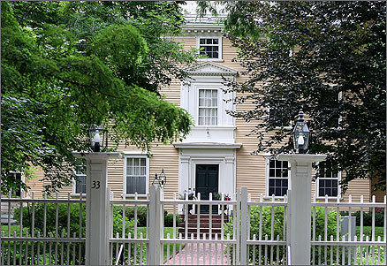 Harvard President Drew G. Faust's package was worth $822,011 , and her residence had a yearly rental value of $96,537. The Georgian-style mansion at 33 Elmwood Ave., Cambridge, was built in 1767.