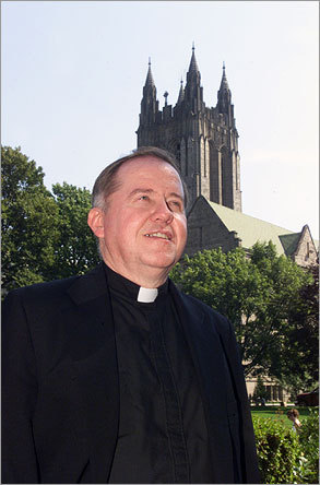Boston College President Rev. William Leahy's total compensation was $0 . Leahy did not receive a salary or housing from the college.