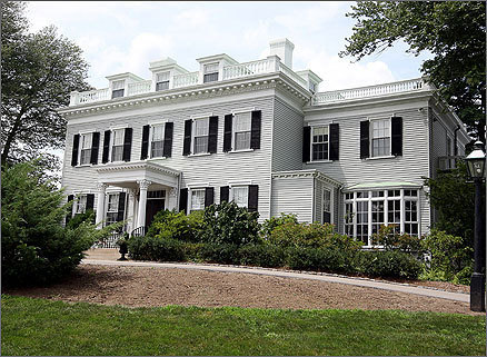 Wellesley College President Kim Bottomly's pay package was worth $601,433 , and her residence had a yearly rental value of $45,000. Built in 1854, the 735 Washington St., Wellesley, home has been used as a president's house since 1926. The house boasts 16 windows on its front face, helping it soak up the sun.