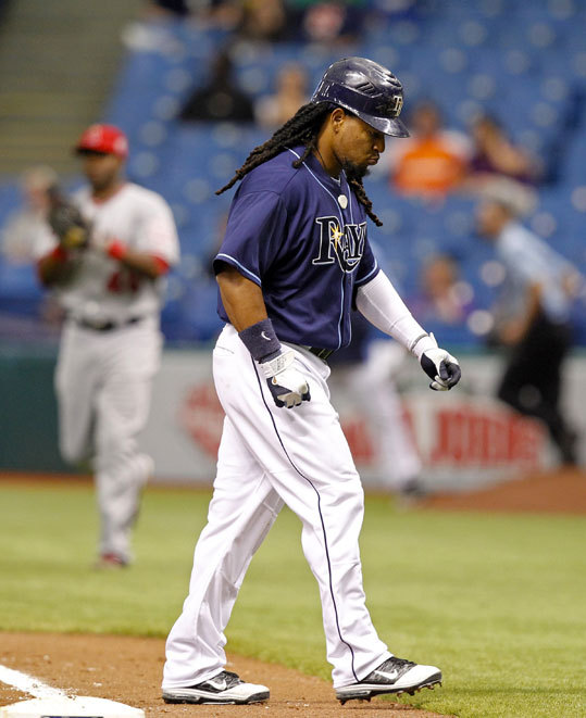 April 8, 2011 Ramirez retired in April 2011 from the Tampa Bay Rays after he tested positive for a performance-enhancing substance. Rather than face a 100-game suspension for a second violation of Major League Baseball's drug policy, the 12-time All-Star left the game. Ramirez previously served a 50-game ban in 2009 with the Los Angeles Dodgers.