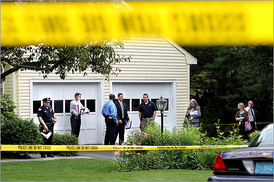 The victims' bodies were found inside the Windsong Lane home after relatives could not reach them.