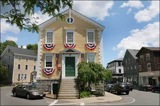 Built in 1727, the Old Town House is one of the oldest town halls in the US that has been in continuous use, according to town officials. Because of the many pre-Revolutionary War meetings held there, the building is referred to as 'Marblehead's Cradle of Liberty,' the town's website says.