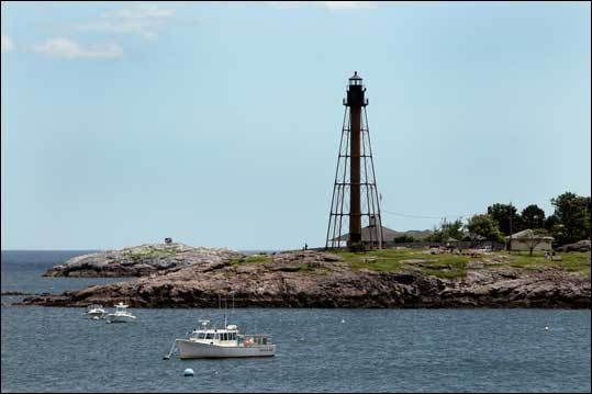 Another of the best views in town, Chander Hovey Park is situated at the end of Follett Street and overlooks the mouth of the harbor. Learn more about parks and playgrounds in Marblehead .