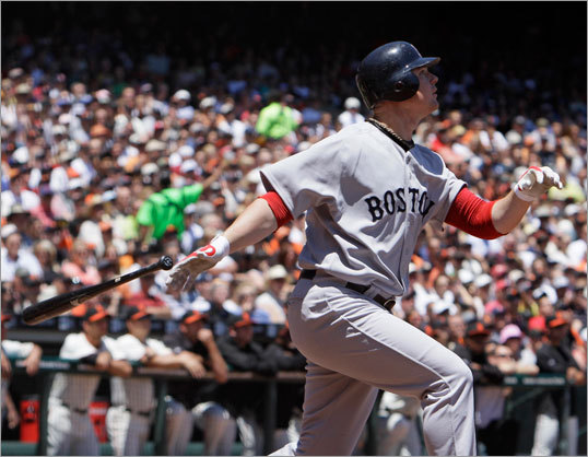 Lester also helped himself, hitting an RBI sacrifice fly ball in the second inning off the Giants starter Lincecum.
