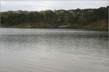SCHOOLHOUSE POND,CHATHAM A small sandy beach, benches, and a row of pines mark the entrance to the pond. If you plan on parking in the small lot, you must have a resident sticker or befriend a local. Otherwise, bike over from town. Houses are hidden among the trees along the shore. Walk on the sandy pond floor and watch the geese fly overhead. Serenity accomplished. From Route 6, take exit 11 and continue onto Route 137 south. Turn left on Old Queen Anne Road and 0.8 miles later, turn right on Sam Ryder Road. A left turn onto Schoolhouse Pond Road will bring you to the parking lot.