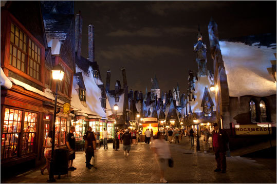 Guests can explore some of the most significant and familiar locations from the Harry Potter books and films.
