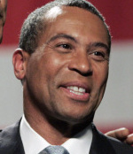 'There isn't going to be a compromise until folks start trying to engage with each other and dial down some of the rhetoric,' Governor Deval Patrick said.