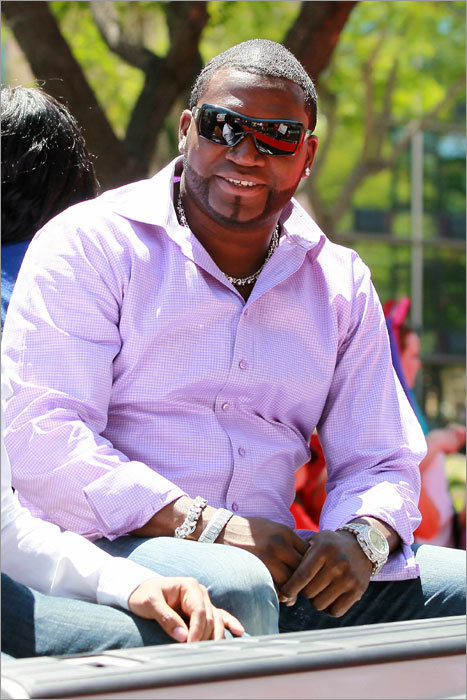 David Ortiz, fresh off his victory in the All-Star home run derby on Monday, got the red-carpet treatment prior to the All-Star Game in Anaheim, Calif., on Tuesday. A Hollywood-style red-carpet entrance was held outside Angel Stadium.