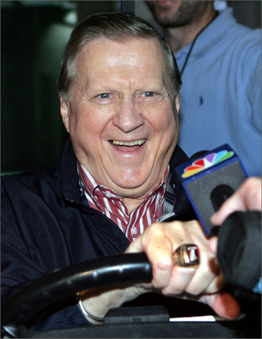 Steinbrenner could be very charitable and magnanimous, even to Boston. Before he became ill, he called in every year to the WEEI radio telethon and made a sizable donation to the Jimmy Fund. After the Red Sox won Game 7 of the 2004 ALCS at Yankee Stadium, he ordered that the lights be left on so the Red Sox could celebrate. He also has a Massachusetts connection. He graduated from Williams College in 1952, and later became a huge benefactor of the school. He played football and ran track at the Williamstown school.