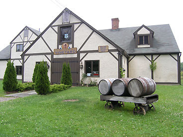 Haight-Brown Vineyard in Litchfield is Connecticut's oldest winery, established in 1975. Haight-Brown ups the ante with a choice of wine and cheese pairings or wine and chocolate pairings. It also has an outdoor deck overlooking the 16 acres of vineyards. My favorite here was Railway White ($15), an unoaked dry white estate wine with citrus overtones.