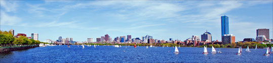 Mike Shea, of Malden, took this panoramic photo from the Massachusetts Ave. bridge in Boston.