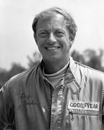 Skip Barber, founder of the Skip Barber Racing School and owner of Lime Rock Park, a road-racing track in Lakeville, Conn.
