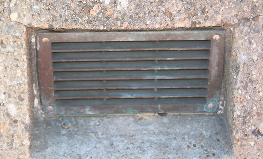 Where would you run across this vent? online surveys