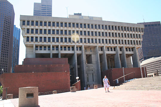 Correct answer: City Hall Plaza