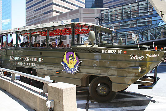 Correct answer: Duck boat
