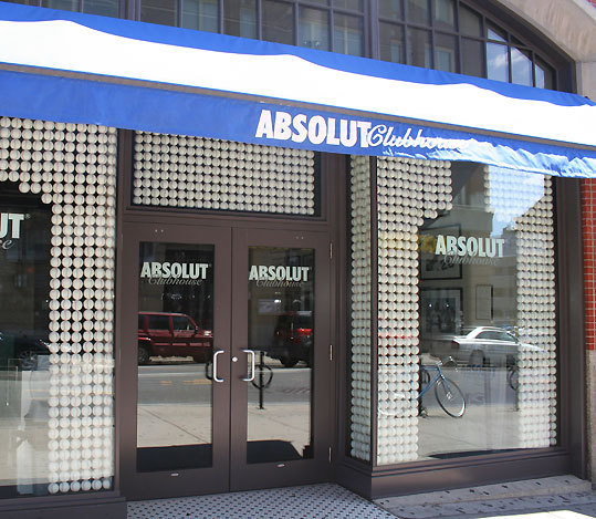Correct answer: The Absolut Clubhouse