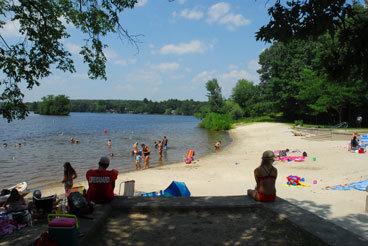 Georgiaville Pond, Smithfield
