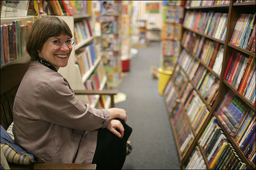 'The true readers have not changed,' says Terri Schmitz, owner of Children's Book Shop.