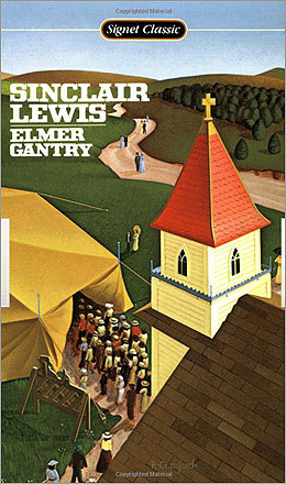 'Elmer Gantry' by Sinclair Lewis (1927) Banned following outrage from clergy members, the novel tells the story of an immoral man who becomes ordained as a minister by accident.