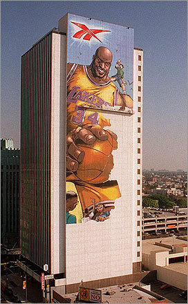 Shaq was a giant in Los Angeles, in more ways than one.