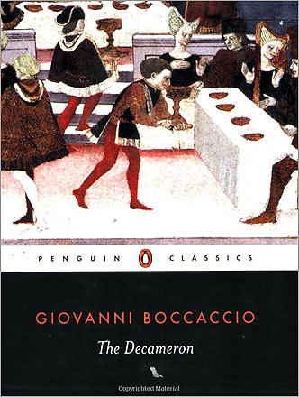 'The Decameron' by Giovanni Boccaccio (1894) A collection of novellas by the Italian author.