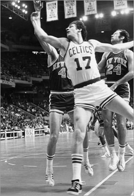 John Havlicek The case for: Hondo is the all-time Celtics leader in points scored with 26,395. He finished in the top 10 in points-per-game six times, the highest finished second in 1970-71. He made 12 consecutive All-Star games between 1966 and 1978 and won Finals MVP in 1974. Stats: 15 seasons/20.8 PPG/4.8 APG/.439 FG percentage