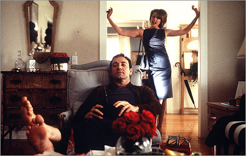 'American Beauty' (1999) Extortion is also the motivation behind the 'I quit' moment in another 1999 film (1999 was apparently a good year for employee frustration). In 'American Beauty,' actor Kevin Spacey's character celebrates his mid-life crisis by quitting his job, but not before he successfully blackmails his boss for $60,000.