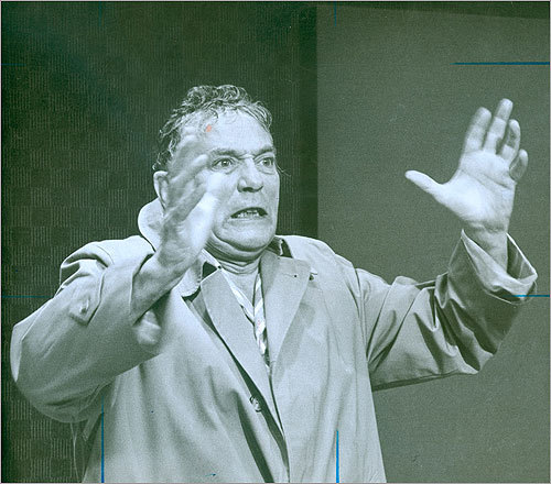 'Network' (1976) Actor Peter Finch won a Best Actor Oscar for his portrayal of TV news anchor Howard Beale, who is being forced out of his job because of poor ratings. While on the air, Beale proclaims 'I'm as mad as hell, and I'm not going to take this anymore,' and encourages his viewers to go to their windows and yell those words.