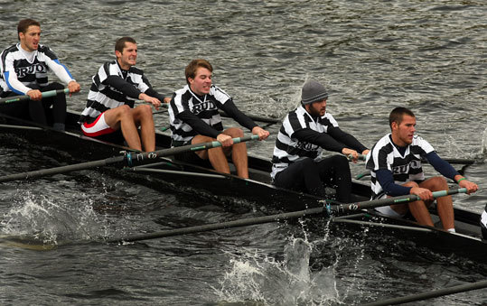 Brown University in Providence ranked 15th on the list. It has a vibrant student life, US News notes , with 'more than 200 student organizations on campus.' At right, the Brown crew team rowed on the Charles River. Endowment: $2 billion Acceptance rate: 11%