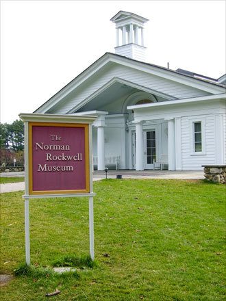 The tour concluded at the Norman Rockwell Museum, which is on a 36-acre estate in Stockbridge, Mass.