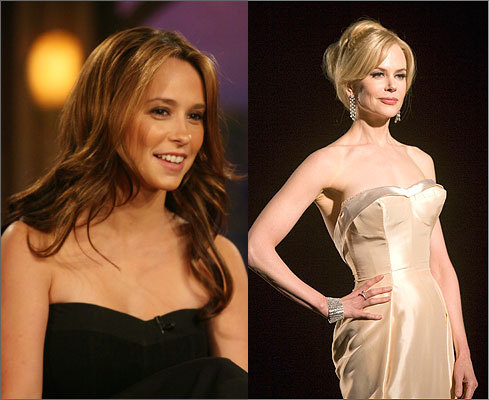 Nicole Kidman and Jennifer Love Hewitt don't have much in common. Kidman is a tall, blonde Australian actress known for her movie roles, while Love Hewitt is diminutive, dark, and made her mark on TV. But despite their differences, the two share a ranking on this list.