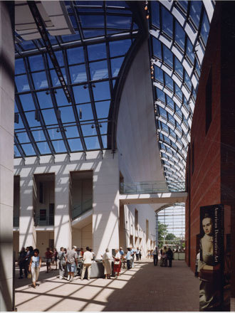 The tour of the Peabody Essex Museum in Salem showcases decorative arts, paintings, costumes, and textiles from North America, China, Japan, Korea, India, and beyond, as well as an extensive collection of maritime art and culture.