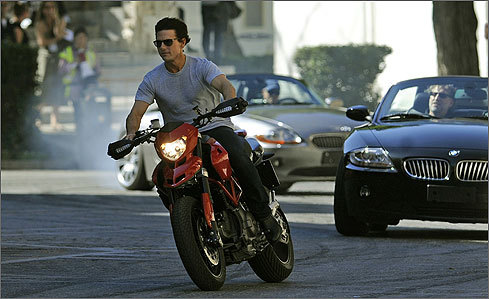 Tom Cruise comes in eighth, making his name more dangerous than jumping-on-couch-on-Oprah Tom Cruise, but probably less dangerous than 'Mission: Impossible' Tom Cruise. Cruise in the 2010 film 'Knight and Day.'