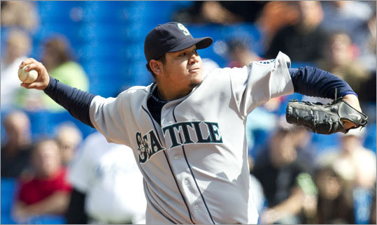 Felix Hernandez, Mariners Stats: 13-12, 2.27 ERA, 232 K, 1.06 WHIP Hernandez is the champion of those who believe individual pitcher stats are more important than wins, because he plays for a team with a dreadful lineup that ranks last in the majors in runs. On Tuesday, he beat the hard-hitting Rangers by limiting them to one run while only getting three in support from his teammates. Hernandez leads the AL in ERA, is second in strikeouts and WHIP, and opponents are hitting a mere .212 against him -- best in the American League. Last year's winner, Zack Greinke, had fewer wins than contenders ahead of him, but won on individual stats.