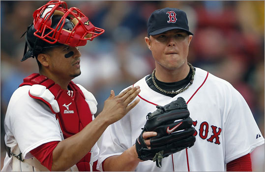 John Lester, Red Sox Stats: 19-8, 2.96 ERA, 220 K, 1.16 WHIP Lester is second in wins, including seven against the playoff-bound Rays, Yankees, Twins and Rangers, and he has held opponents to a .214 batting average, which is second-best in the American League. Just imagine how many wins Lester might have had if the Red Sox hadn't been hit by so many injuries to key players. He'll get one final chance to get to 20 wins, most likely Thursday at Chicago White Sox.