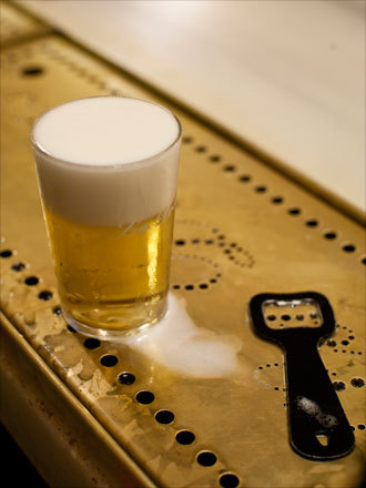 The perfect pour? A cana - a tiny draft beer - at La Dolores, one of Madrid's best spots for a cold one.
