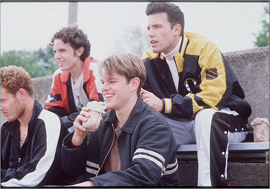 'Good Will Hunting' (1997) Local boys Matt Damon and Ben Affleck were successful in making this film synonymous with Boston. Damon's character hailed from South Boston, and his accent was spot on. At left, a scene from the film.
