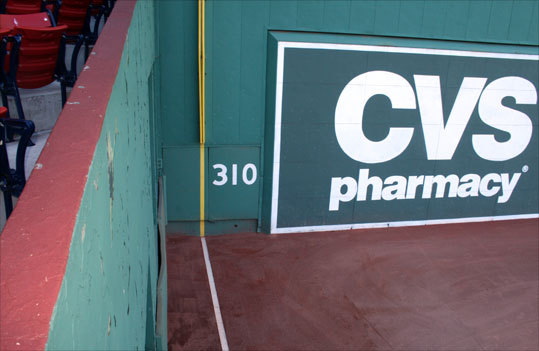 Where the foul line meets the Green Monster