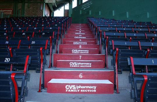 Grandstand steps