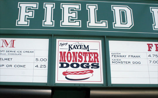 Monster Dogs sign