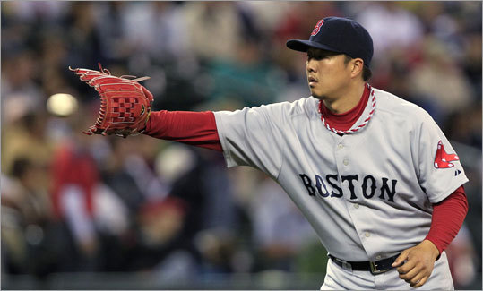 Hideki Okajima, pitcher Status: Arbitration eligible Case for/against: The lefthanded reliever had been a key member of the Sox bullpen since coming over from Japan in 2007, but he had a dismal season in 2010, posting a career-worst 4.50 ERA and 1.71 WHIP.